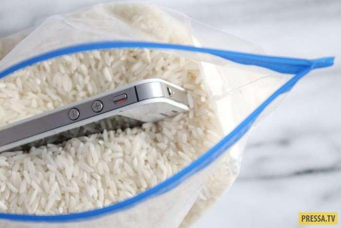 Необычное и полезное использование риса в быту (13 фото)