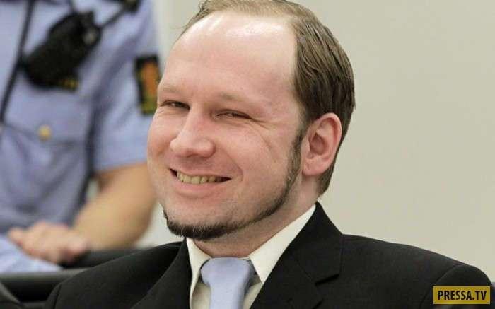 Брейвик опять жалуется на нечеловеческие условия в тюрьме (26 фото+1видео)