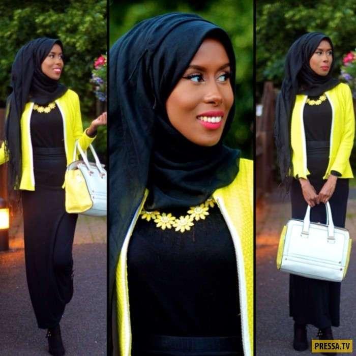 Самые популярные, мусульманские девушки блогеры (8 фото)