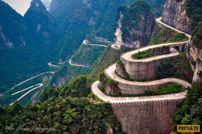Места уникальной красоты в Китае (13 фото)