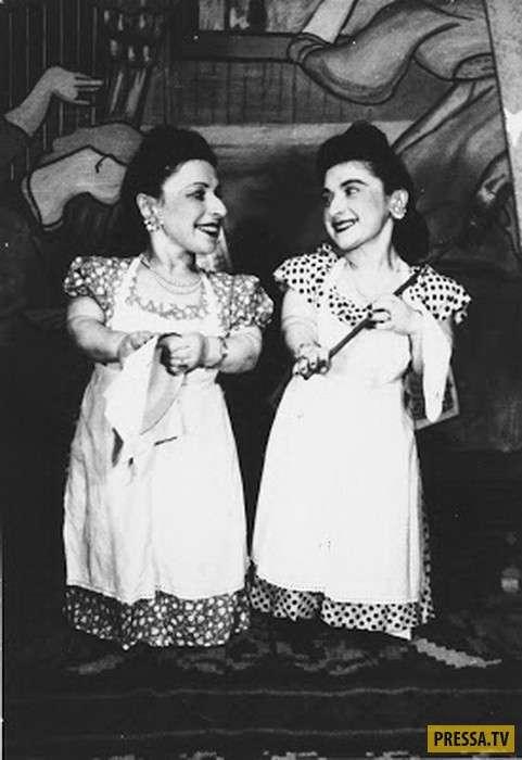 Семья Овиц - лилипуты-музыканты, пережившие нацистский концлагерь (8 фото)