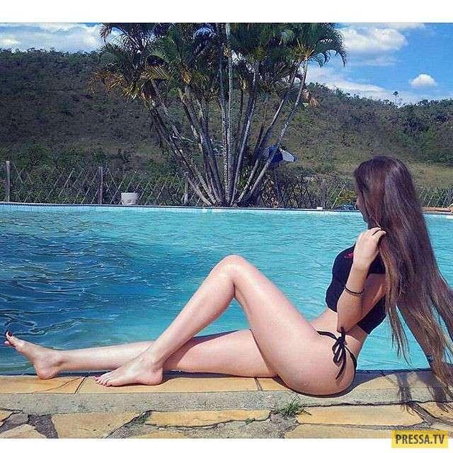 """""""Горячая штучка"""" Джулия Пиментелл - восходящая звезда Instagram (14 фото)"""