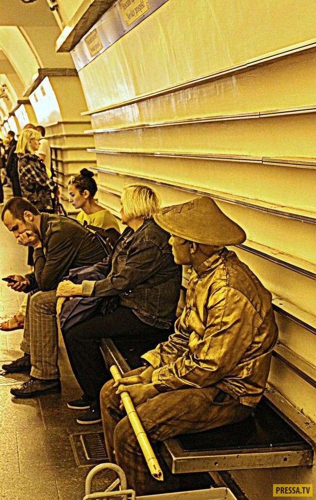 Модные граждане из российского метро (39 фото)