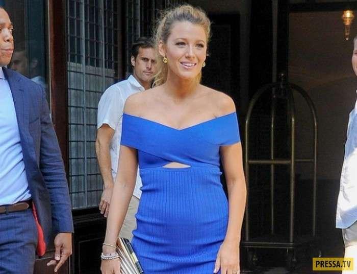 Самые удачные наряды беременных знаменитостей (11 фото)