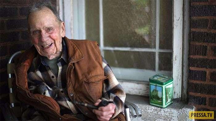 98-летний пенсионер пожертвовал 2 млн долларов на создание заповедника (5 фото)
