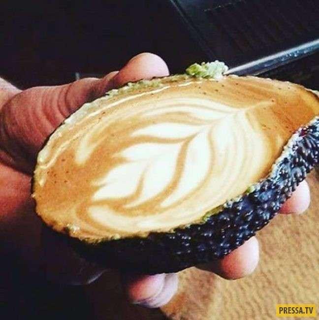 ТОП-10 удивительных и креативных напитков из кофейных зёрен (10 фото+1 видео)