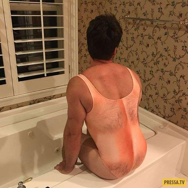 Наденьте волосатый купальник - и вы будете в центре внимания! (5 фото)