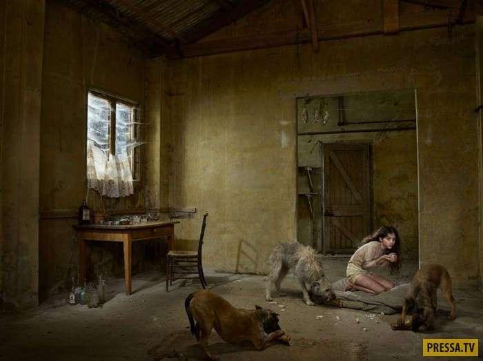 ТОП-14 реальных историй одичавших детей (14 фото)