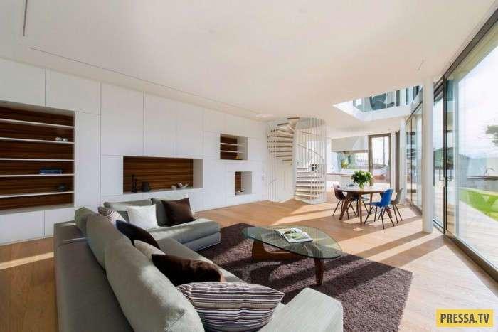 Энергосберегающий дом в Швейцарии (19 фото)