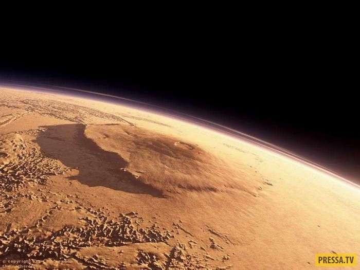 Самая высокая гора в Солнечной системе (7 фото)