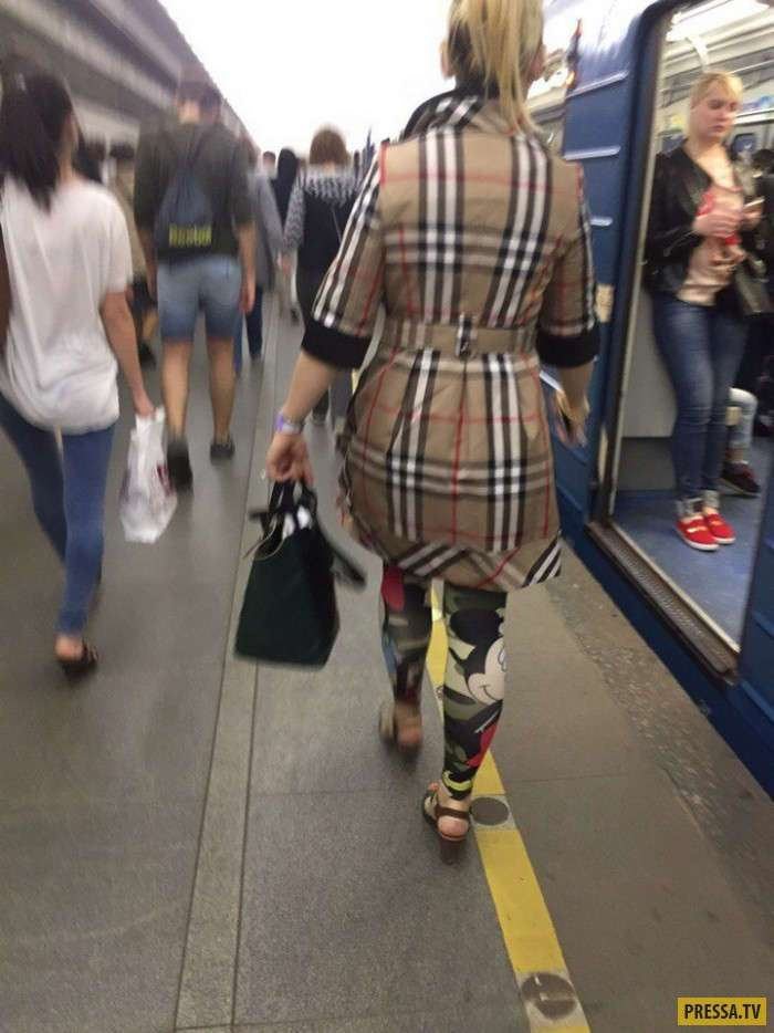 Модные граждане из российского метро (37 фото)