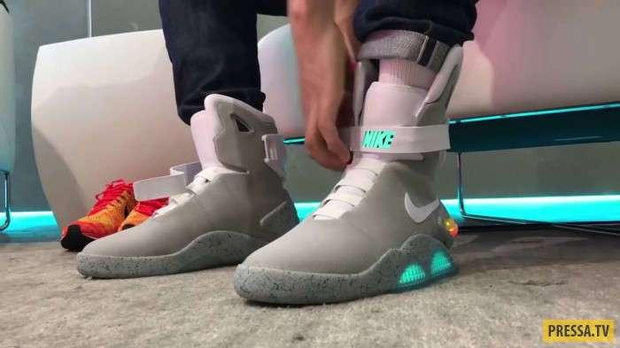 Кроссовки Nike Mag проданы за $52 400 (фото + видео)