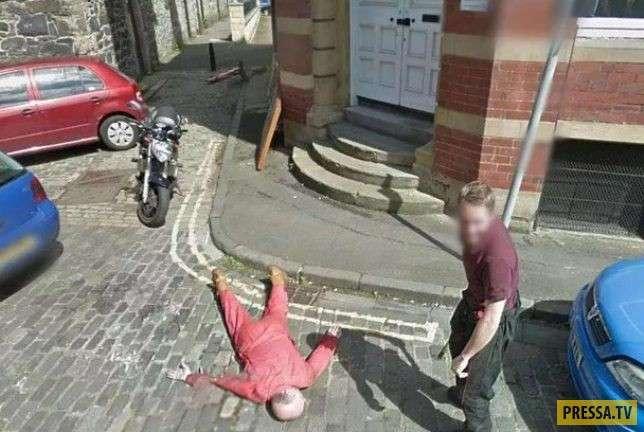ТОП-11 нелепых и страшных, криминальных находок Google Maps (11 фото)