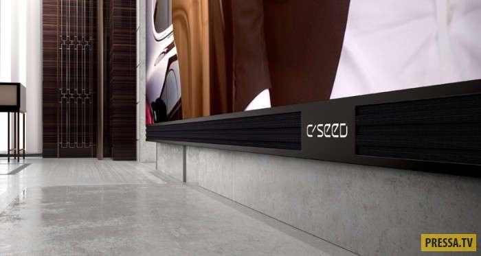 Самый большой и дорогой телевизор C Seed 262 стоимостью $549000 (14 фото+4 видео)
