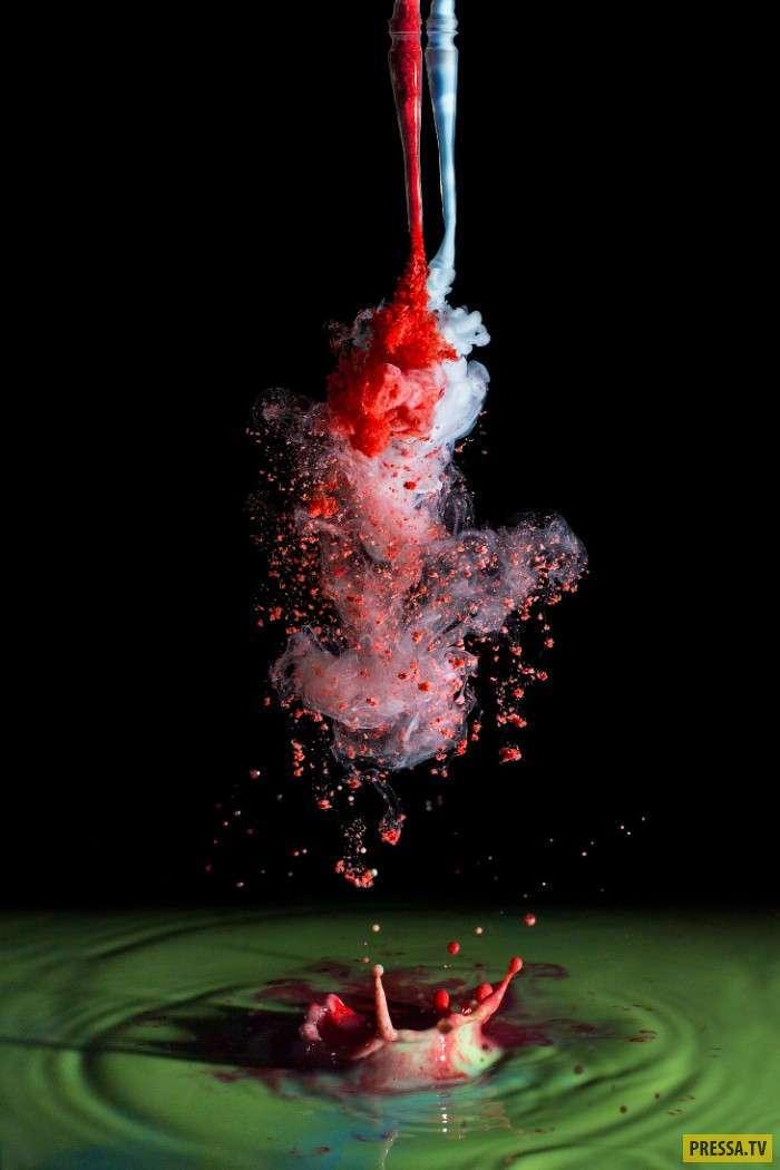 Удивительные картины чернильными пятнами (9 фото)