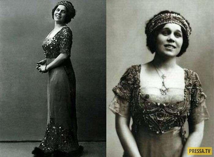 Надежда Плевицкая - великая певица и агент советской разведки (10 фото)