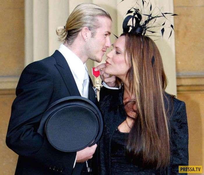 Дэвид и Виктория Бэкхем: настоящая любовь (19 фото + видео)