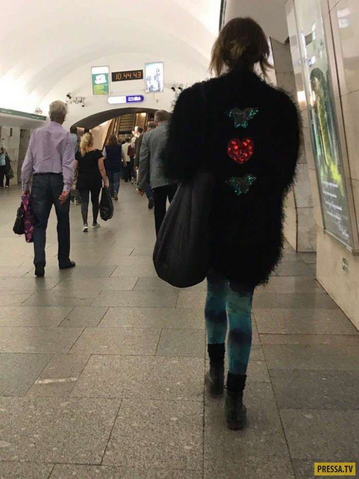 Модные граждане из российского метро (35 фото)