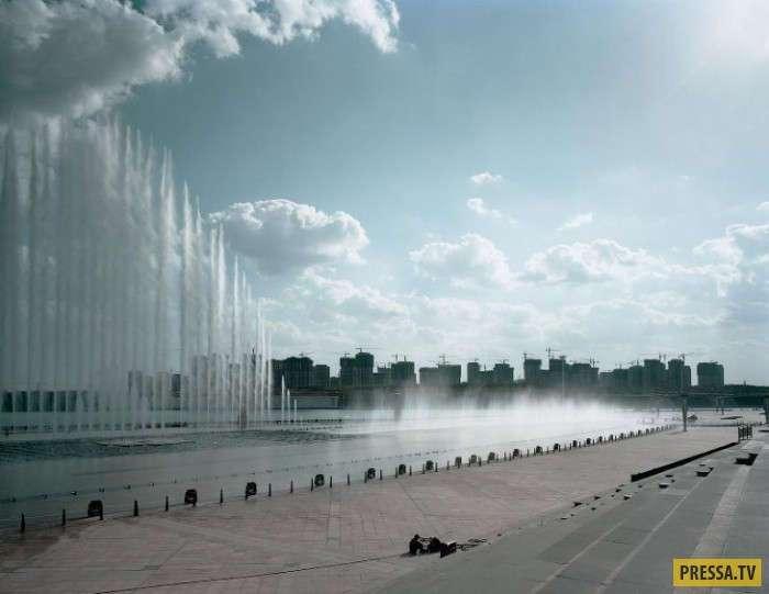 Миллионный город пустует в Китае (20 фото)