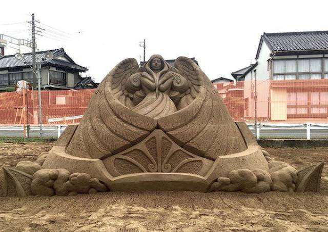 Как такое вообще можно делать из песка?!
