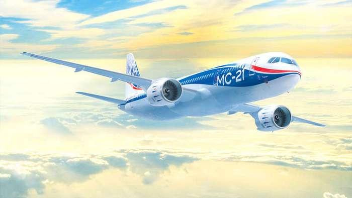 Авиалайнер XXI века: в чём секрет новейшего российского самолёта МС-21 (5 фото)