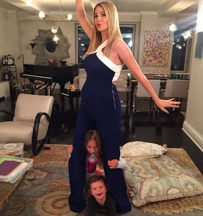 Стоимость коллекции картин в доме Иванки Трамп оценили благодаря ее Инстаграму (11 фото)