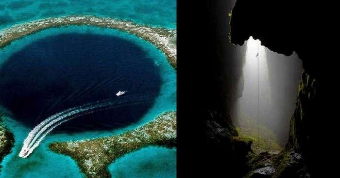 Самые впечатляющие карстовые воронки Земли (16 фото)
