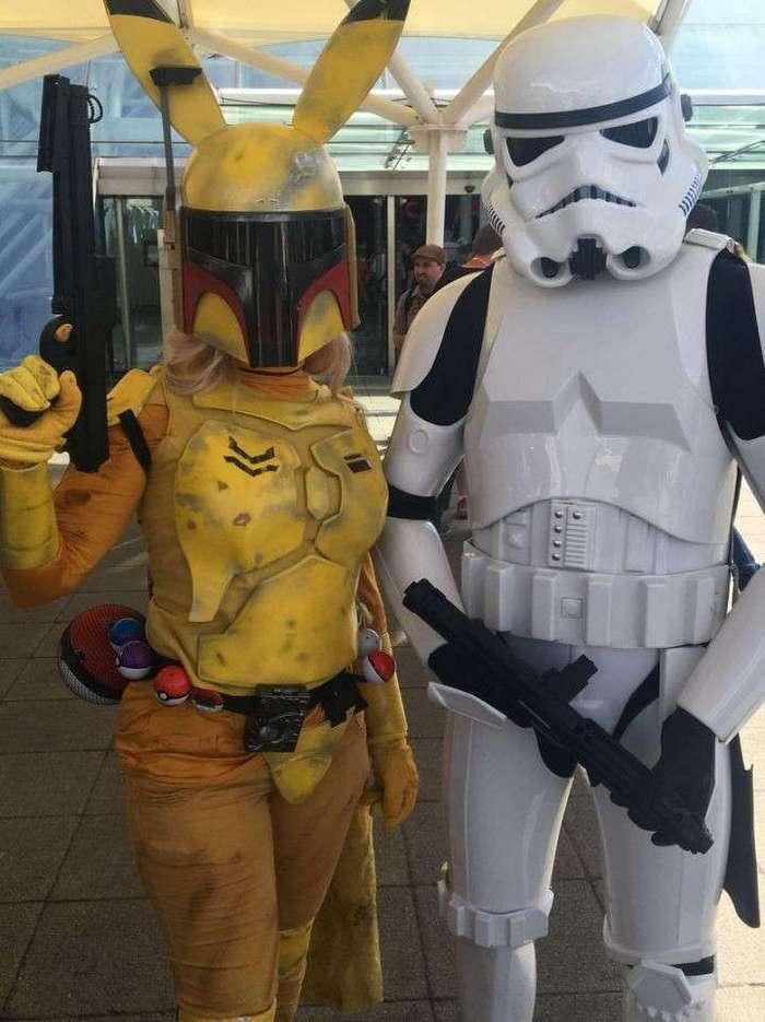 Косплей подборка по вселенной Star Wars (35 фото)