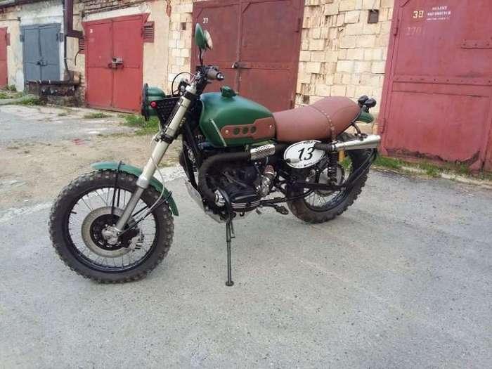 Кастомный мотоцикл URAL Scrambler oт WOLF-Customs (20 фото)