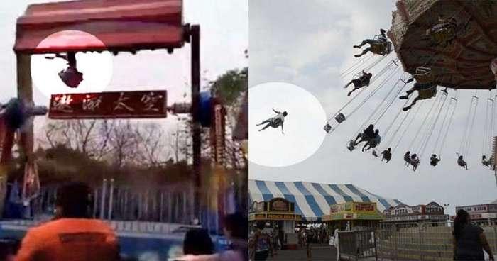 Смерть на аттракционе: жуткие происшествия в парках развлечений (16 фото)