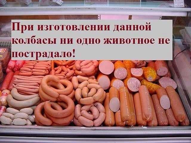 Секрет колбасного изобилия в России (2 фото)