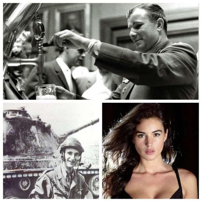 Интересные фотографии известных людей (27 фото)