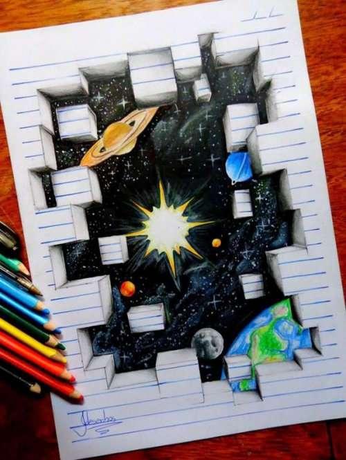 Невероятные 3D-рисунки талантливого художника Жоао Карвальо (18 фото)