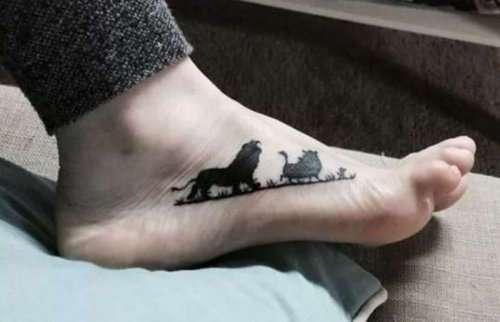 Татуировки, вдохновлённые фильмами (26 фото)
