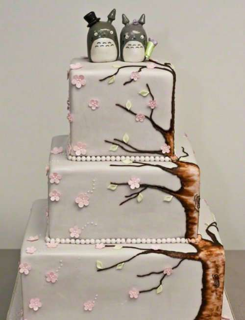 Классные гиковские свадебные торты (14 фото)