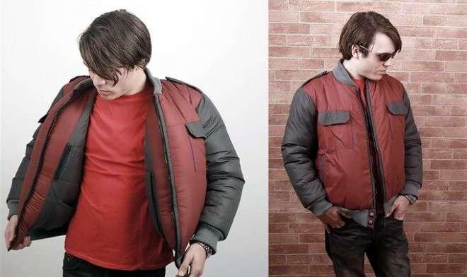 Куртка из -Назад в будущее- с режимом сушки и встроенным климат-контролем (3 фото)