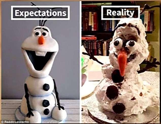Еда: ожидание и реальность (13 фото)