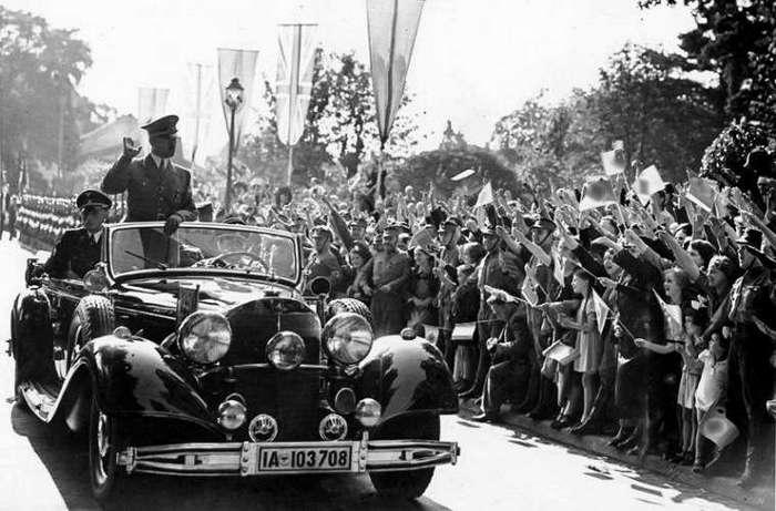 Почему на автомобиле Гитлера возили дыни (14 фото)