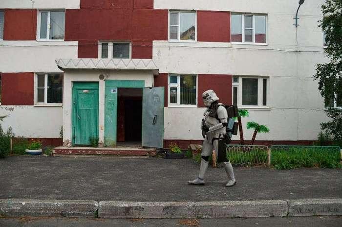 star wars в российских реалиях (18 фото)