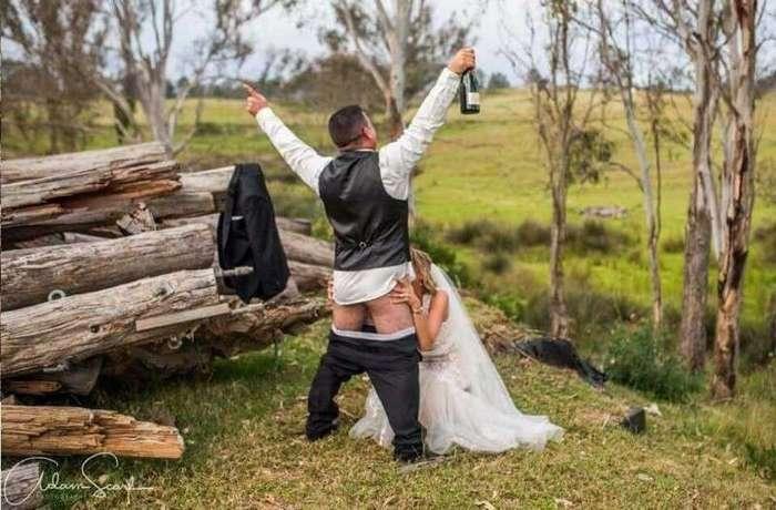 Фото со свадеб, которые расплющат вам мозги! (28 фото)