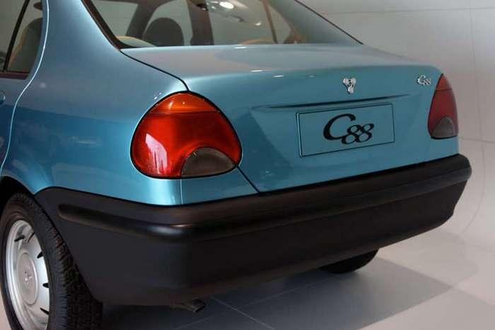 бюджетный седан Porsche C88, который мог стать популярным в России (10 фото)