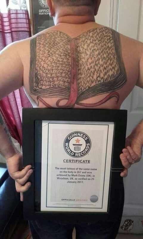 Счастливый папаша одним махом установил новый мировой рекорд (7 фото)