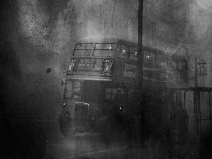 Туман, спустившийся на Лондон 5 декабря 1952, года убил 12 тысяч человек (8 фото)