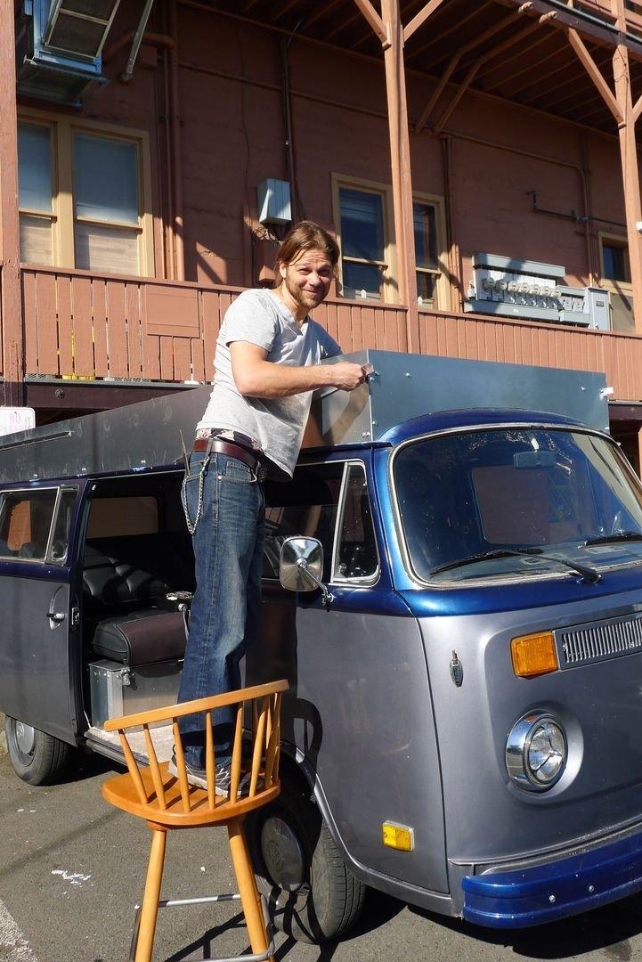 Электрический фургончик Volkswagen 1972 года для путешествий своими руками (46 фото + 2 видео)
