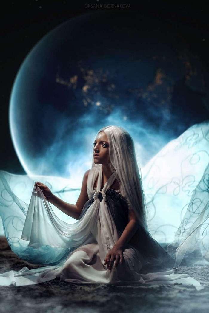 Новый шедевр фотографа Оксаны Горнаковой -Luna Liness- (9 фото)