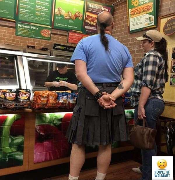 Странные посетители американских супермаркетов (21 фото)