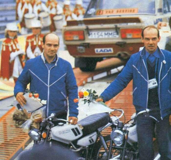 Раллийный дуэт братьев-близнецов Николая и Игоря Больших (10 фото)