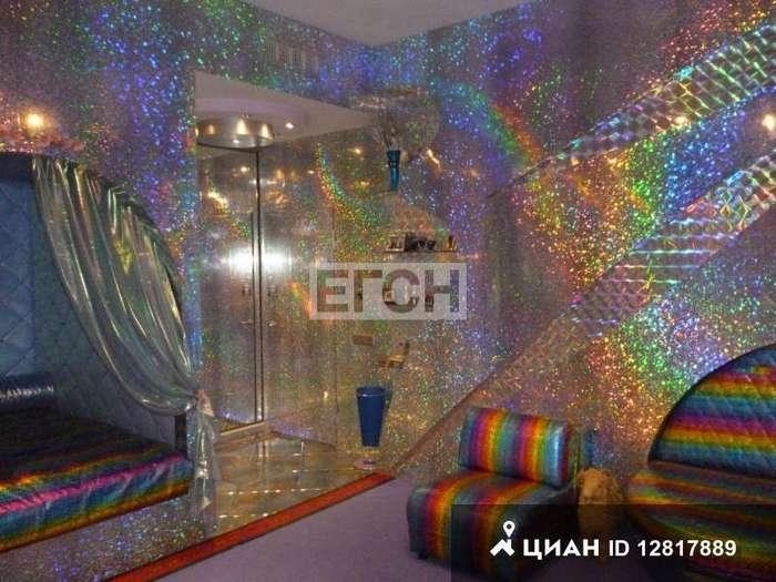 Необычный интерьер московской квартиры (5 фото)