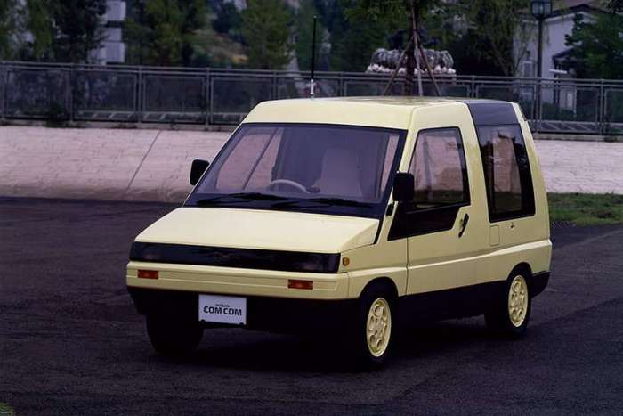 Очень маленькие фургончики из Японии (21 фото)