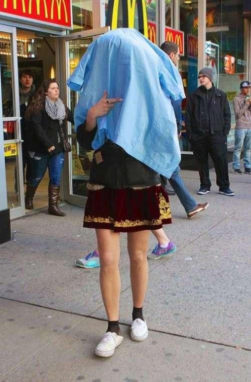 Как знаменитостям стать незаметными и невидимыми для папарацци? (19 фото)